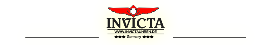Invicta Uhren in Deutschland. Invicta Watches in Germany.